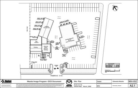 EDWARDS MAZDA-Site Plan